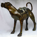 Olivia Clifton-Bligh. 'DOG AND MONKEY' Bronze